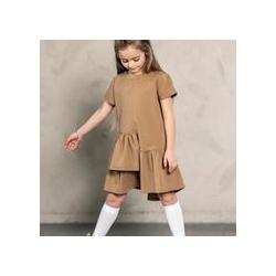 Stilinga, MASHMNIE trumpomis rankovėmis suknelė mergaitei