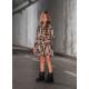 Kilpinio trikotažo, Mashmnie suknelė mergaitei